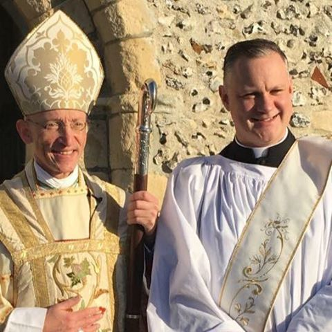 Ordination of Chaplain Andy Birks