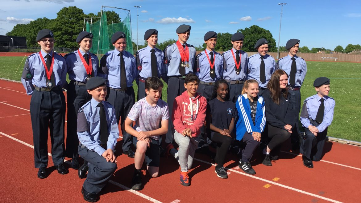 Sussex Wing Annual Athletics Competition